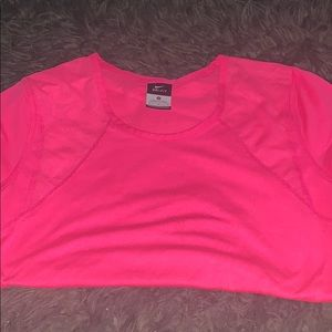Pink Nike dry fit t-shirt